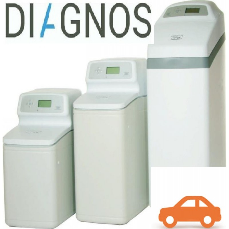 Diagnostics of water softeners Kiev region
