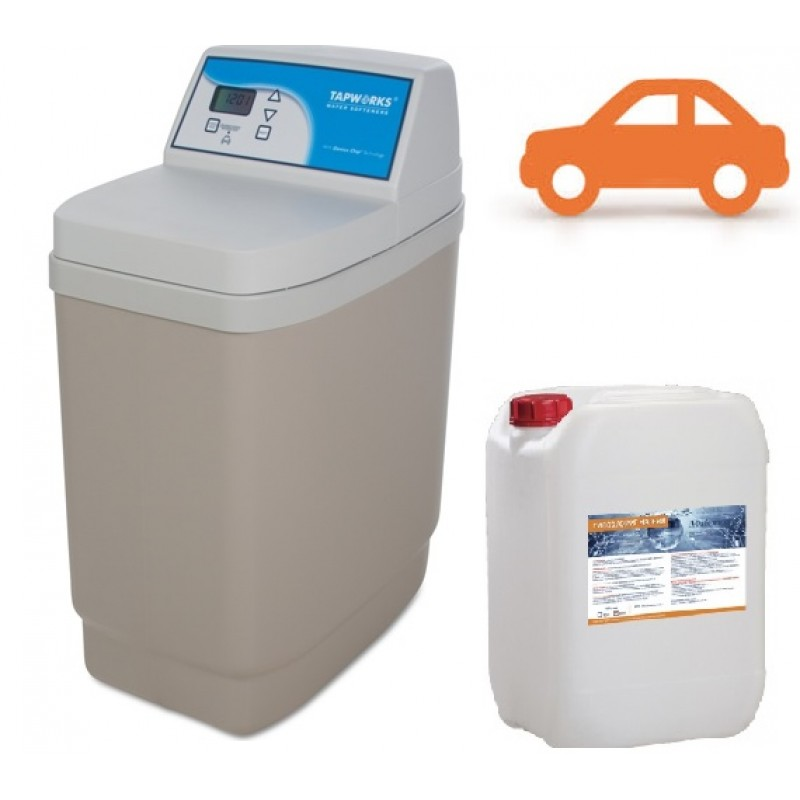 Disinfection water softener Kiev region