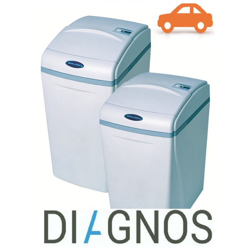 Diagnostics of waterboss water softeners Kiev regi...