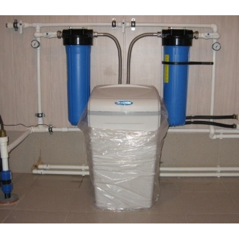 water softener WaterBoss 700 + filter BB20""