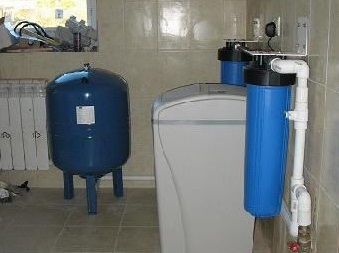 water de iron and water softening