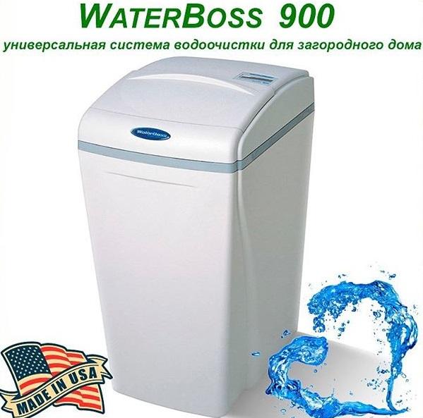 Умягчители и обезжелезыватели воды Waterboss