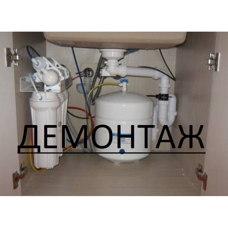 Dismantling of reverse osmosis systems