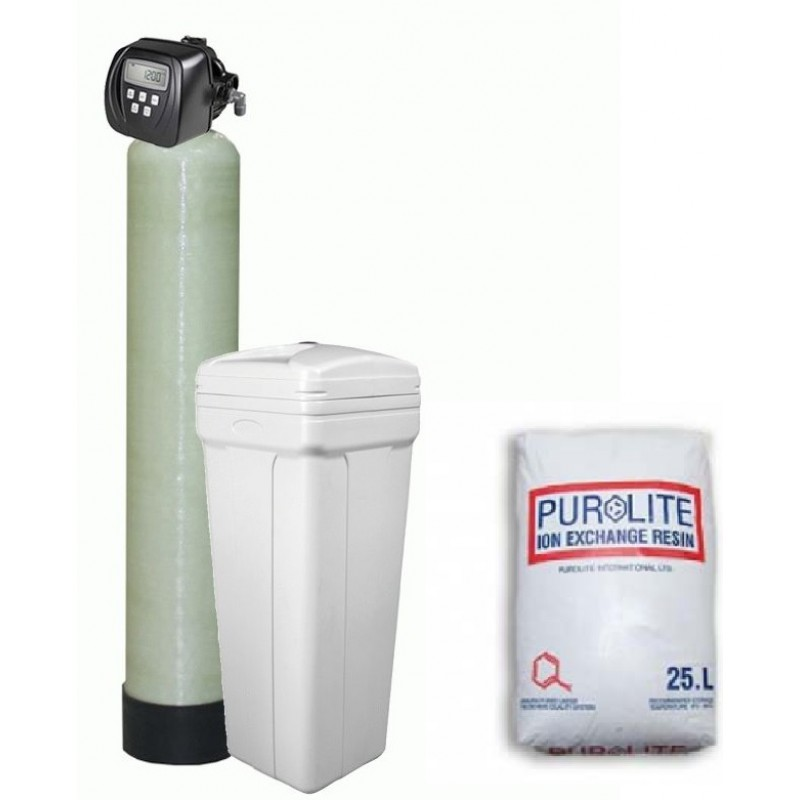 Replacement of resin in the column water softener ...